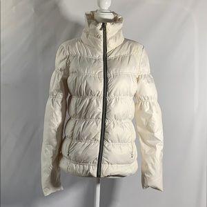 Guess Teen Girl Duck Down White Puffer Coat
